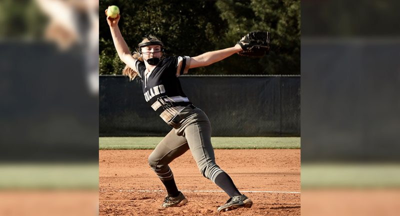Cass earns DH split after Woodland's Baker tosses shutout in opener