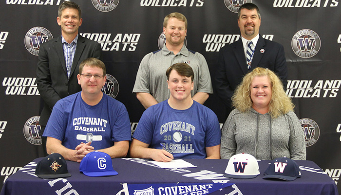 Woodland's Smith signs with Covenant College baseball