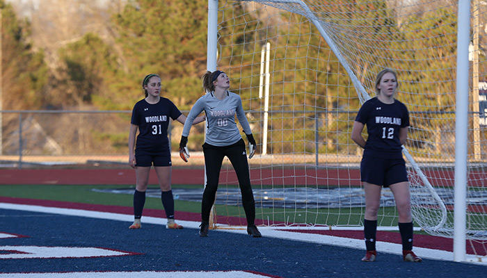 Cass girls soccer downs Woodland, earns playoff spot