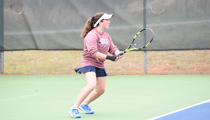 Woodland tennis teams edge out Adairsville