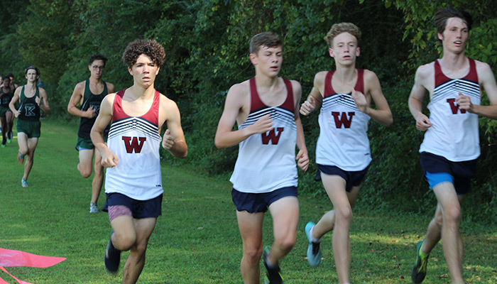 Read more about the article Woodland XC girls 5th, boys 6th at Cherokee Classic